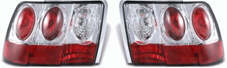 Mustang APC Chrome Taillights - Gen 2 Style - 404548TLR