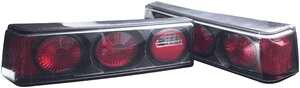 Mustang APC Euro Taillights with Carbon Fiber Housing - 404137TLCF
