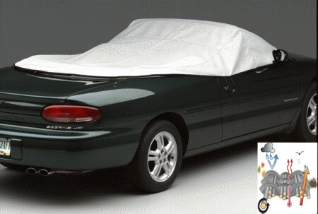 Mustang Covercraft WeatherShield HP Convertible Interior Cover