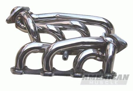 Mustang Ford Mustang Pypes Polished 304 Stainless Steel Shorty Headers - 20031