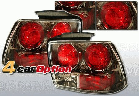 Mustang Ford Mustang 4 Car Option Altezza Taillights - Gunmetal - LT-FM99G-YD