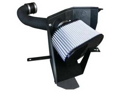 Mustang Ford Mustang aFe MagnumForce Pro-Dry-S Stage 2 Air Intake System - 51-11312