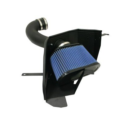 Mustang Ford Mustang aFe MagnumForce Pro-Dry-S Stage 2 Air Intake System without Cover - 51-10293