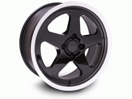 Mustang Ford Mustang Black SC Style Wheel