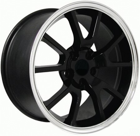 Mustang Ford Mustang Black FR500 Wheel