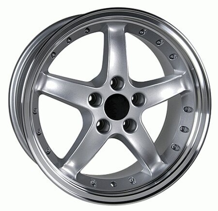 Mustang Cobra Style Wheel Silver - Mustang 17 Inch 4 Wheel Package