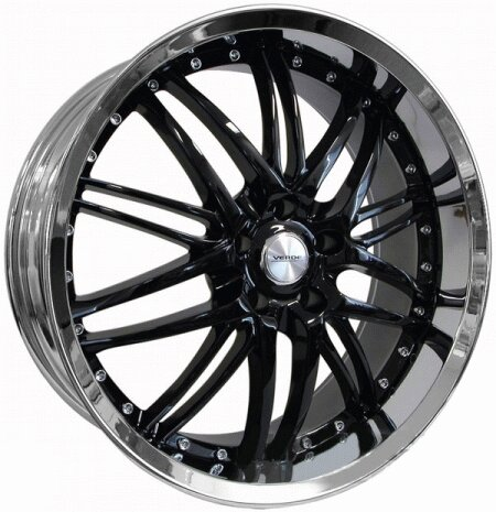 Mustang Ford Mustang Black Kaos Wheel