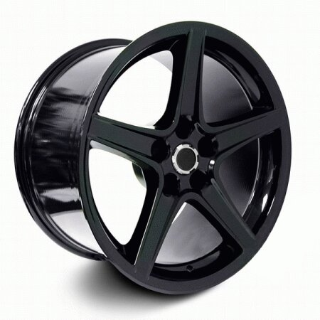 Mustang Ford Mustang Black S Style Wheel