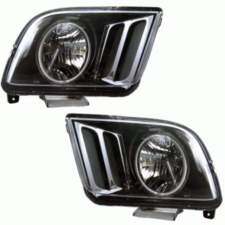 Mustang Ford Headlights