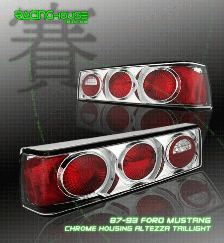Mustang Chrome Altezza Taillights