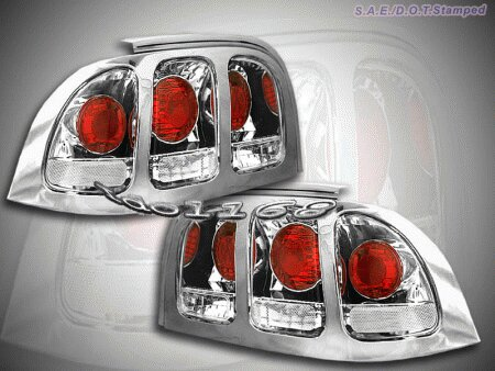Mustang Chrome Clear Altezza Taillights